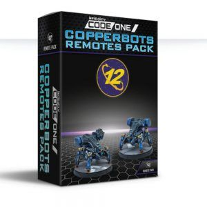Infinity Code One: Copperbots Remotes Pack
