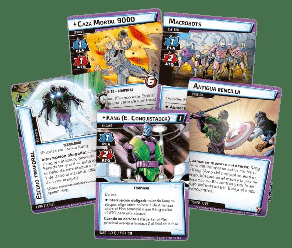 Marvel Champions: El Juego de Cartas - Antiguo y Futuro Kang 1