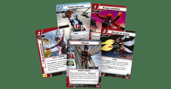 Marvel Champions El Juego de Cartas - Avispa 1