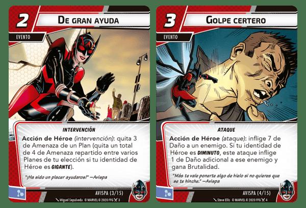Marvel Champions El Juego de Cartas - Avispa 2
