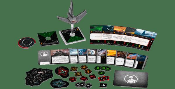 Star Wars X-Wing Segunda Edición - Lanzadera Ligera Clase Xi 1