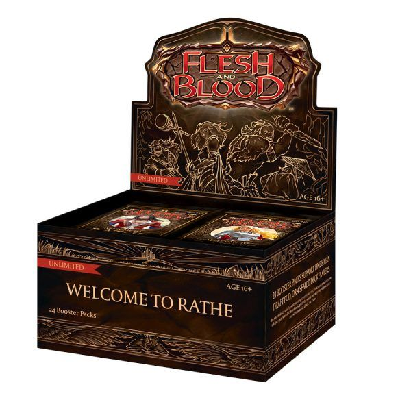 Flesh and Blood - Welcome to Rathe - Caja de Sobres