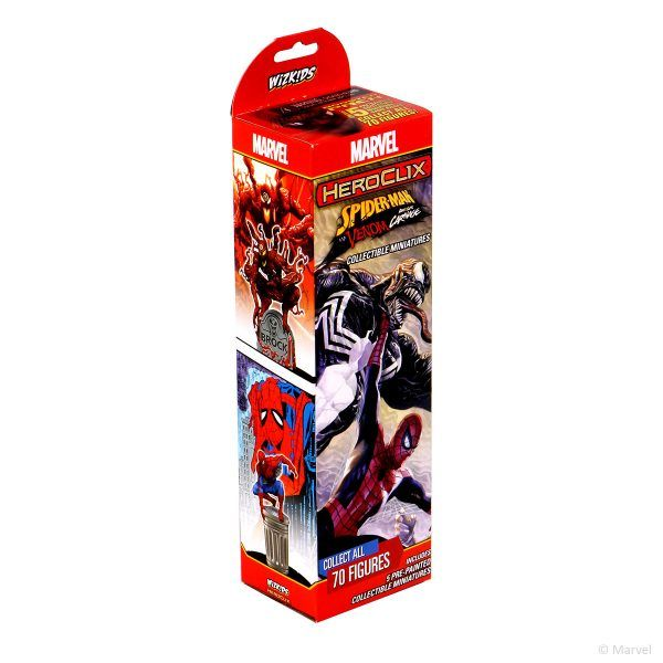 Heroclix Spider-Man and Venom Absolute Carnage - Booster