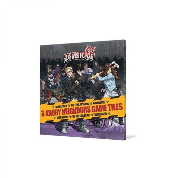 Zombicide: Angry Neighbors - Game Tiles