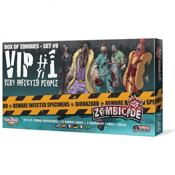 Zombicide: VIP Very Infected People #1