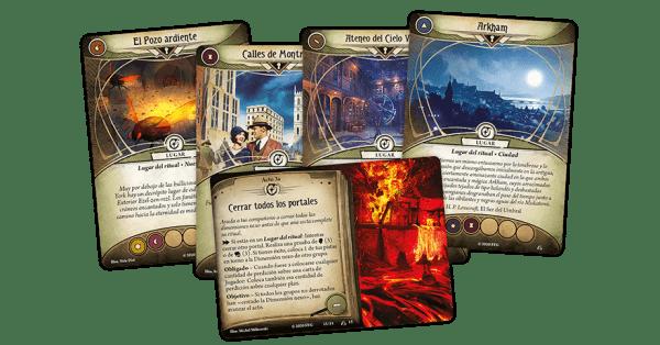 Arkham Horror: El Juego de Cartas - La Guerra de los Dioses Exteriores 1