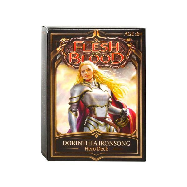 Flesh and Blood - Welcome to Rathe - Hero Deck Warrior2