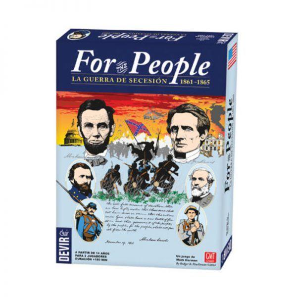 For The People: La Guerra de Secesión 1861 - 1865