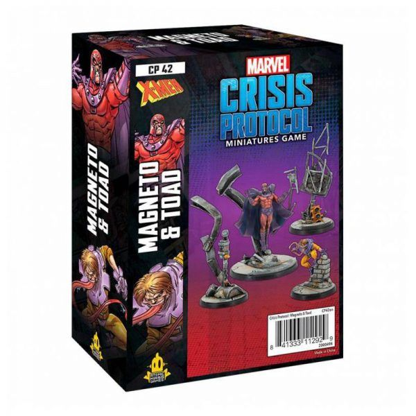 Marvel Crisis Protocol: Magneto & Toad