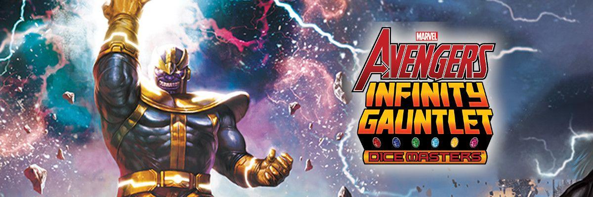 Comprar Dice Masters Avengers Infinity Gauntlet