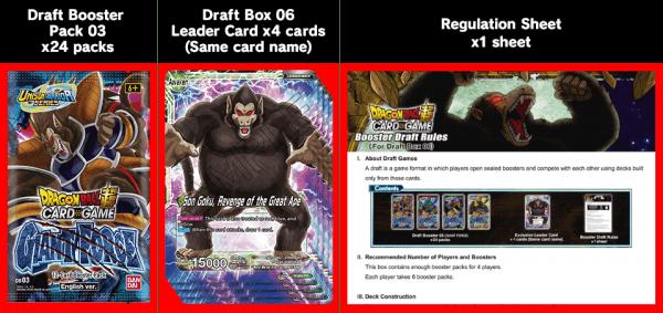 DBSCG Draft Box 06 Giant Force