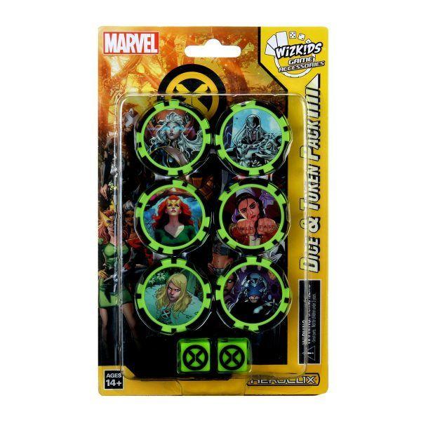 Heroclix X-Men House of X - Dice & Token Pack