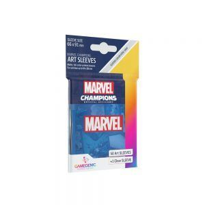 Fundas de Cartas Marvel Azul