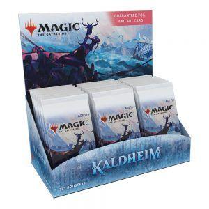 MTG Kaldheim caja de sobres de edición
