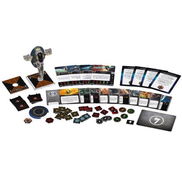 Star Wars X-Wing: Segunda Edición - Esclavo I de Jango Fett
