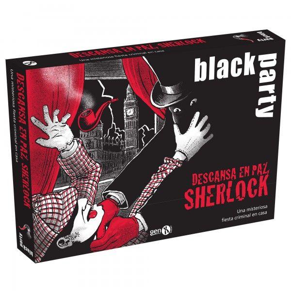 Black Party: Sherlock Descansa en Paz