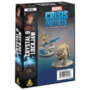 Marvel Crisis Protocol Crystal & Lockjaw