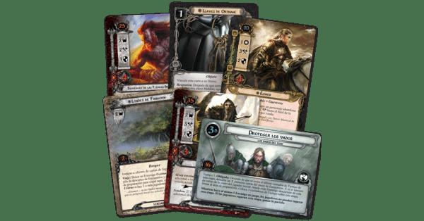 El Señor de los Anillos El Juego de Cartas - La Voz de Isengard