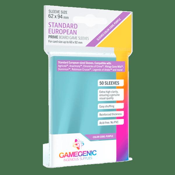 Fundas de Cartas: Gamegenic - Prime 62 x 94 (50)