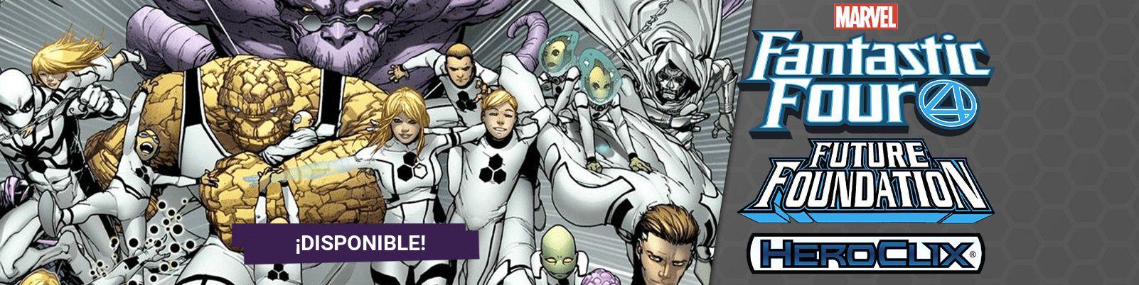 Comprar Heroclix Fantastic Four Future Foundation