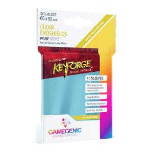 Fundas de Cartas Gamegenic - Keyforge Exoshields 66 x 92 (40)