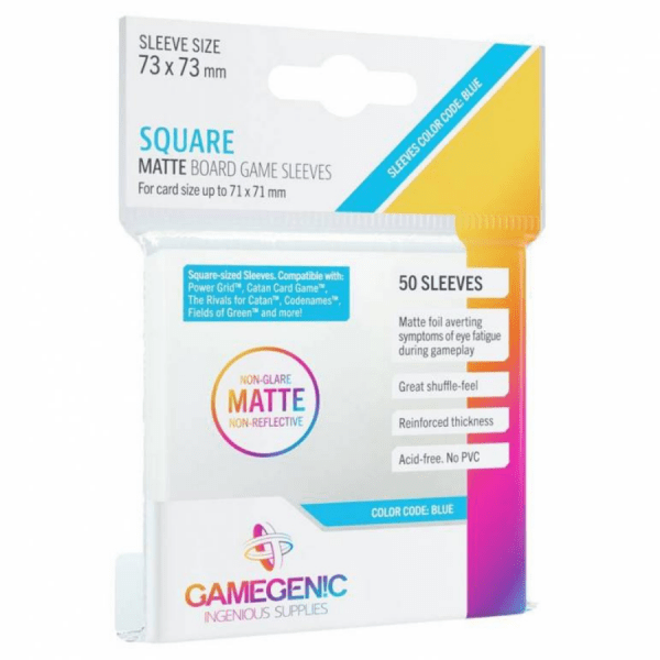 Fundas de Cartas Gamegenic - Matte 73 x 73 (50)