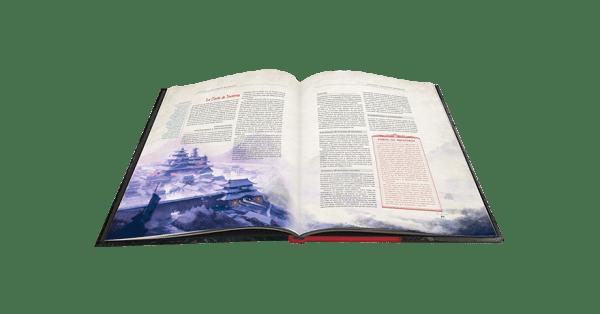 La Leyenda de los Cinco Anillos: El Juego de Rol - Cortes de Piedra