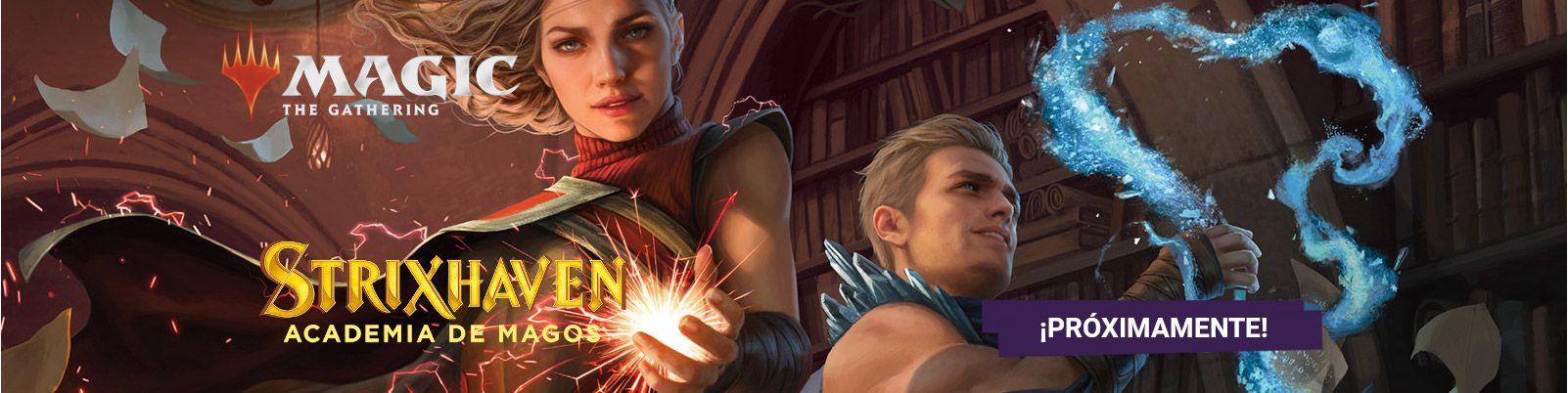 Magic The Gathering Strixhaven Academia de Magos