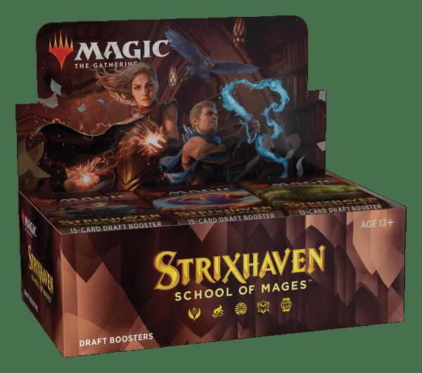MTG: Strixhaven: School of Mage - Caja de Sobres de Draft (English)