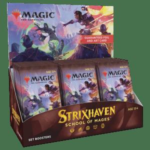 MTG: Strixhaven: School Of Mages - Caja de Sobres de Edición