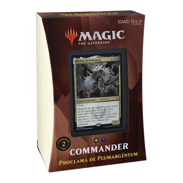 MTG: Strixhaven: Academia de Magos Commander - Proclama de Plumargéntum