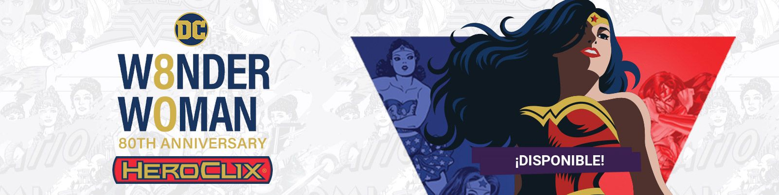 HeroClix DC Wonder Woman 80th Anniversary