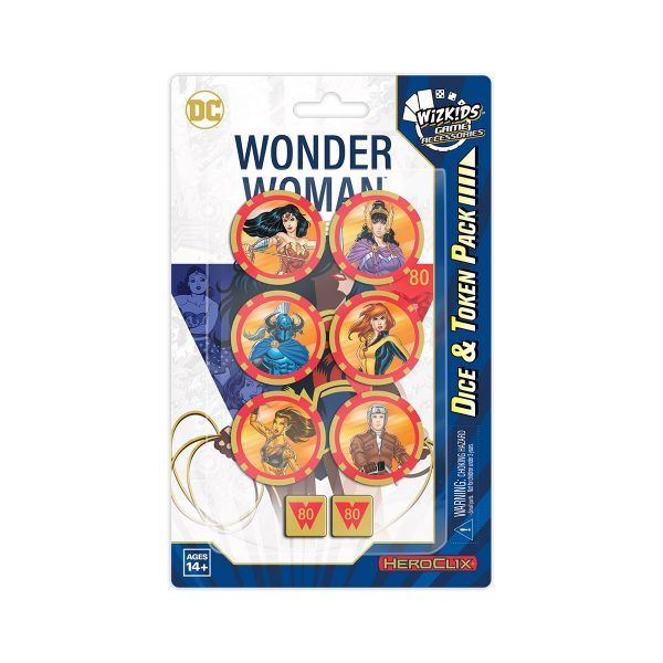 HeroClix Wonder Woman 80th Anniversary Dice & Token
