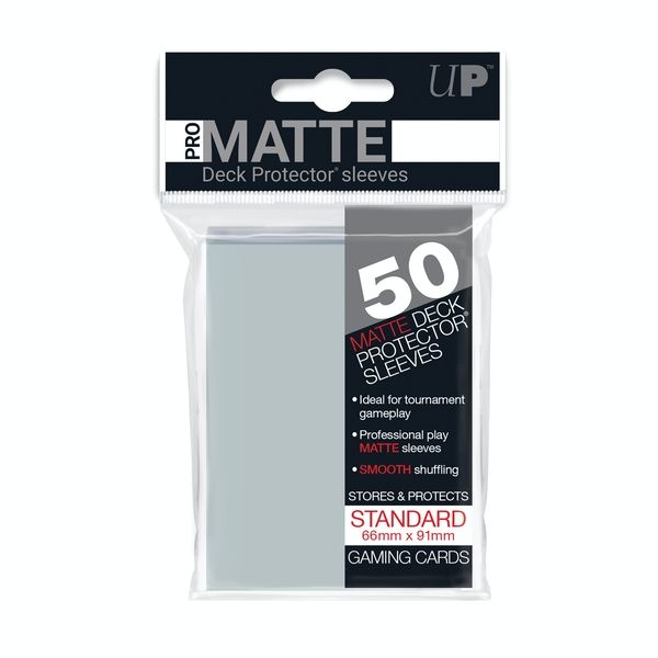 Fundas de Cartas: Ultra Pro Pro Matte 66 x 91 mm - Transparente