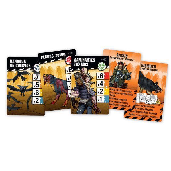 Zombicide: 2ª Edición - Zombies y Acompañantes (Pack de Conversión)
