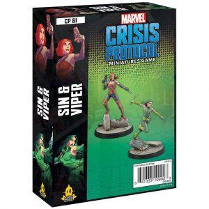 Marvel Crisis Protocol: Sin & Viper