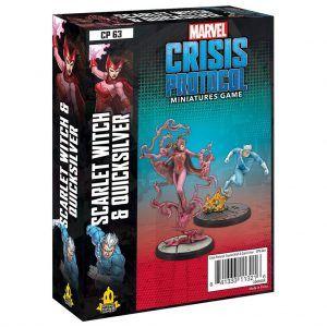 Marvel Crisis Protocol: Scarlet Witch & Quicksilver