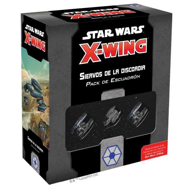 Star Wars X-Wing: Segunda Edición - Siervos de la Discordia