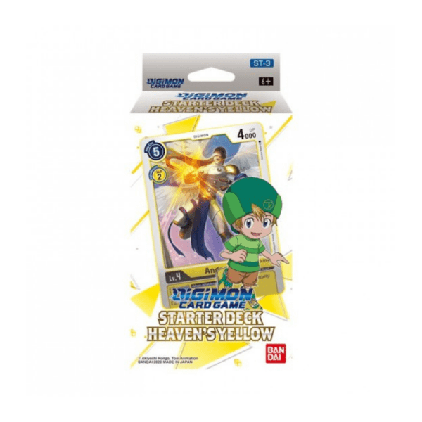 Digimon Card Game: Heaven's Yellow ST-3