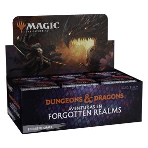 MTG: Aventuras en Forgotten Realms - Caja de Sobres de Draft
