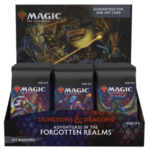 MTG: Adventures in the Forgotten Realms - Set Booster Box