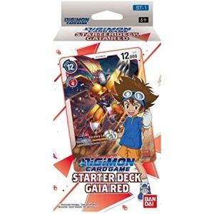 Digimon Card Game: Gaia Red ST-1