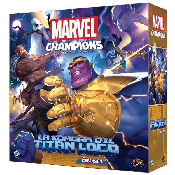 Marvel Champions Sombra del Titan Loco