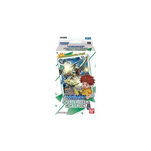 Digimon Card Game: Giga Green ST-4