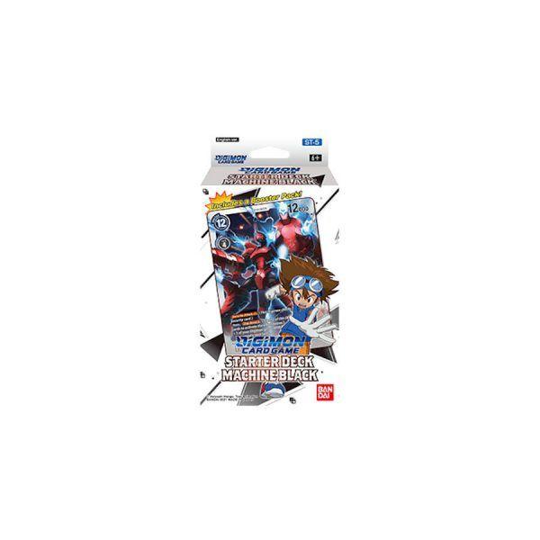 Digimon Card Game: Machine Black ST-5