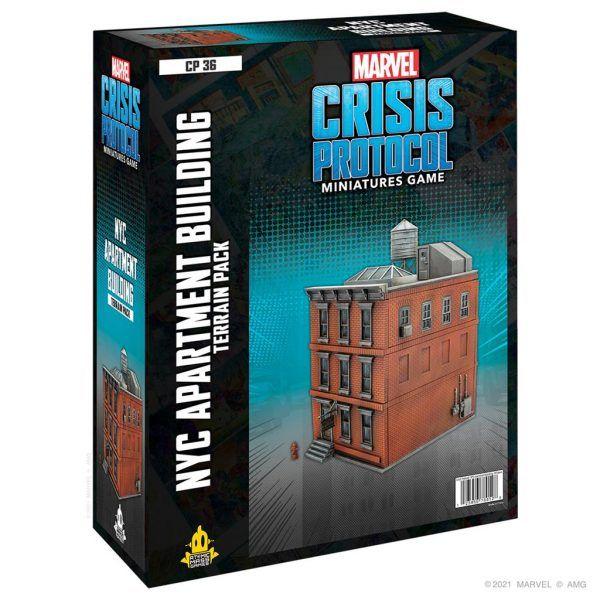 Marvel Crisis Protocol: NYC Apartment Building Terrain