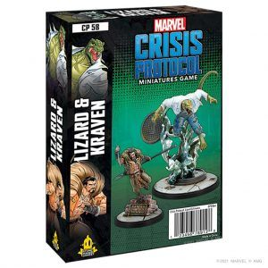 Marvel Crisis Protocol: Lizard & Craven