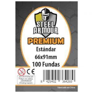 Fundas de Cartas: Steel Armour - Premium Standard 66 x 91 (100)