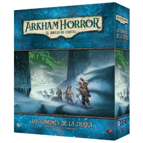 Arkham Horror LCG Los Confines de la Tierra Campaña1