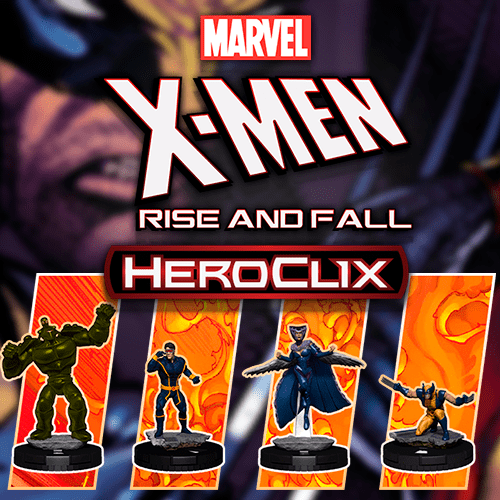Heroclix Marvel X-Men Rise and Fall
